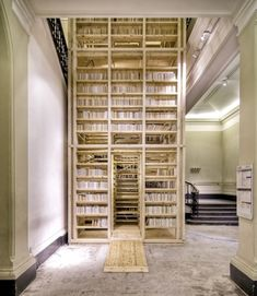 Climb inside bookshelf