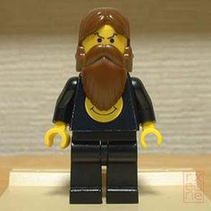 Alan Moore versão LEGO