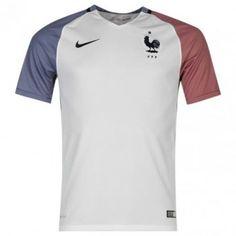 Frankrike 2016 Bortatröja Kortärmad Polo Shirt, France, Mens Tops, Shirts, Euro, Polos, Polo Shirts, Polo, Dress Shirts