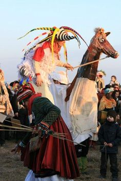 Ethnic Dress, Folklore, Goddesses, Crane, Dancing, Celebration, Creatures, Easter, Horses