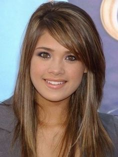 Layered Hair With Fringe Styles The Layered Hair With Fringe Styles can become your desire when thinking of about Daily Hairstyle. When publishing this Layered Hair With Fringe Sty. Long Bob Haircut With Bangs, Layered Haircuts With Bangs, Side Bangs Hairstyles, Long Hair With Bangs, Haircuts For Long Hair, Long Hair Cuts, Straight Hairstyles, Long Hairstyles, Layered Hairstyles