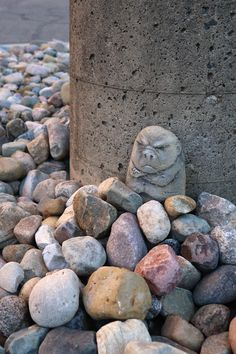 Three weeks into his managerial position, Leonard was annoyed to find the rocks still refuse to organize themselves by size, color or shape.