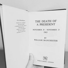 Another old book found in the back of the closet - The Death of a President by William Manchester. The first book on the Kennedy assassination - given Ive had it over 20 years I really should read it! #bookstagram #booksofinstagram #oldschool #oldbooks #reallyshouldreadthebook
