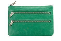 MOLLY Wallet in Green by Status Anxiety