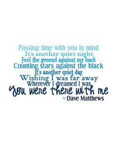 Love me some DMB!! (The Southern Darling)