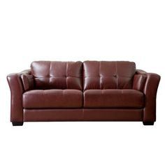 Found it at Wayfair - Ashburn Leather Sofa