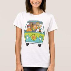 #Zazzle - #Zazzle Scooby Doo Pose 71 T-shirt - AdoreWe.com