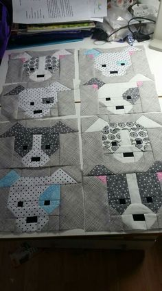 Dog Gone Cute Quilt from Sew Fresh