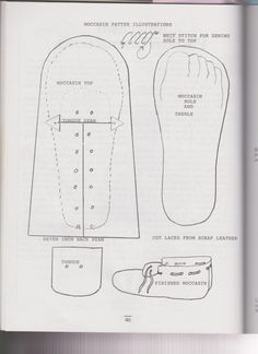Patterns For Shoe Covers Figure 3 Pattern For Shoes From Damendorf Germany
