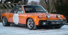 1971 Porsche 914/6 GT The ex-Works 1971 Monte Carlo Rallye & later RECARO - O.N.S. safety car.