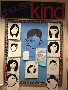 Wonder by R.J. Palacio- Some of our Wonder inspired self-portraits.