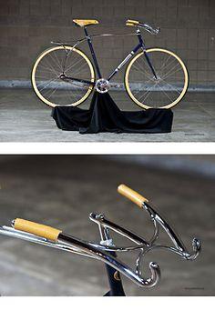 NAHBS 2013 Award Winner: Cherubim Bicycle handles