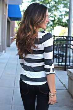 Seeing Stripes Top