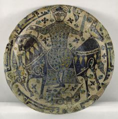North-eastern Iran (Nishapur) Pergamonmuseum, Staatliche Museen zu Berlin Physical Format: w22 x h60 cm Type: Ceramic Looking out