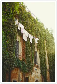 Laundry day in Rome.