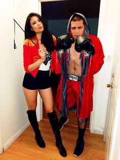 Halloween Costumes - Circus Ring Leader & Boxer