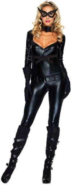 women's costume: cat girl   medium