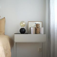 QUU Tablelamp B Floating Nightstand, Interior Inspiration, Table Lamp, Interiors, Furniture, Home Decor, Floating Headboard, Lamp Table, Interior Design