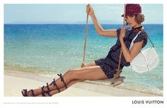 Louis Vuitton Cruise 2012 Campaign | Arizona Muse by Mark Segal