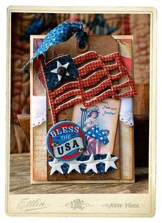 Americana card by Hilary Kanwischer