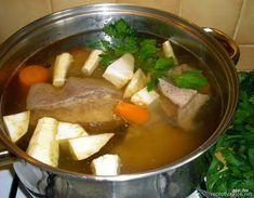 Nejedlé recepty: Hovězí vývar Food And Drink, Beef, Meat, Steak
