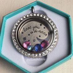 a grandmother locket. #holidays #jewelry #origamiowl #grandmother #swarovski