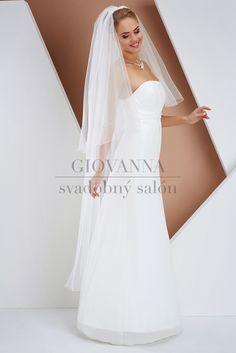 Doplnky: Závoje - Agentúra Giovanna Formal Dresses, Wedding Dresses, One Shoulder Wedding Dress, Salons, Fashion, Dresses For Formal, Bride Dresses, Moda, Bridal Gowns
