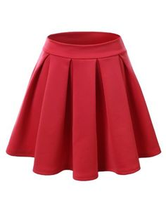 J.TOMSON Women's Classy Basic All Around Pleated Skater Skirt >>> Find out more about the great product at the image link.