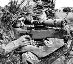 Legendary sniper Carlos Norman Hathcock II shot an enemy sniper through the enemy's own scope