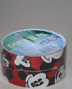 """1 Disney Mickey Mouse Duct Duck Tape Roll 1 88"""" x 10yds New Great for Crafts 