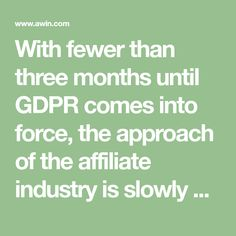 With fewer than three months until GDPR comes into force, the approach of the affiliate industry is slowly coming into focus. Cyber, Math, Math Resources, Mathematics