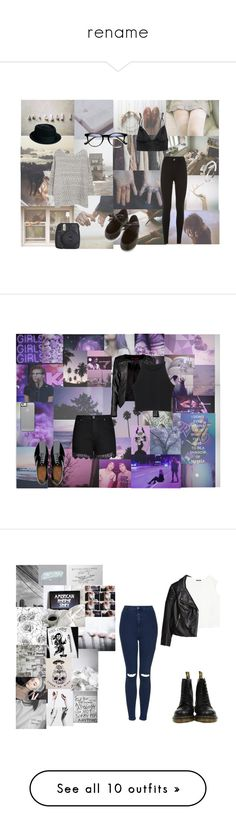 """""""rename"""" by gothkink ❤ liked on Polyvore featuring Børn, Violeta by Mango, Dr. Martens, ASOS, Fujifilm, ...Lost, City Chic, FitFlop, Boohoo and plus size clothing"""