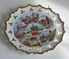 Vintage,Ceramic Plate,Vintage Ceramic Plate,Marriott's,Great America Plate,Made in Japan by HoneyQueenBee on Etsy