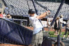 Aaron at Yankee Stadium 6/24/13
