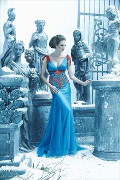 To Dream of Heaven (amato haute couture) LOVE the colors.