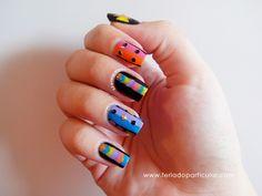 Nail art Tribal! www.feriadoparticular.com
