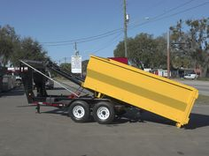 Roll Off Trailers - Dump Trailers