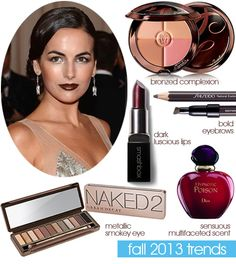 Fall 2013 Beauty Makeup Trends
