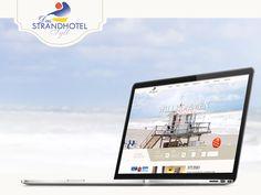 Der Internetauftritt des Strandhotel Sylt wurde von den Pixelcreators komplett überarbeitet! Übersichtlich und klar im Design... so präsentiert sich das Hotel nun im Internet! Das Hotel, Studio, Design, Beach Resorts, Studios