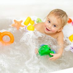words you can teach your child in the bathtub