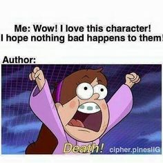 Discovered by Find images and videos about funny, lol and book on We Heart It - the app to get lost in what you love. Really Funny Memes, Stupid Funny Memes, Funny Relatable Memes, Hilarious, Funny Stuff, Harry Potter Francais, Gravity Falls Anime, Gravity Falls Funny, Fangirl Problems