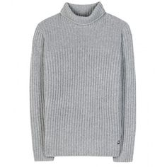 Loro Piana Ginevra Cashmere Turtleneck (7.480 RON) ❤ liked on Polyvore featuring tops, sweaters, jumper, shirts, grey, cashmere turtleneck, gray sweater, grey sweater, cashmere sweater and turtle neck sweater