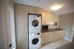 Laundry Room Renovation by Van Dolder's Kitchen & Bath