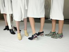 For your eyes only fashion Celine, Elin Kling, 2014 Trends, Only Fashion, High Fashion, Beautiful Shoes, Backstage, Fashion Shoes, Winter Fashion