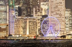 Hong Kong Observation Wheel. Places Ive Been, Places To Go, Discover Hong Kong, Pacific Place, Macau, Great Pictures, Empire State Building, Ferris Wheel, The Good Place