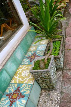 Floor Tiles in Ubud, Bali