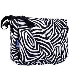 Zebra Kickstart Messenger Bag - 41405