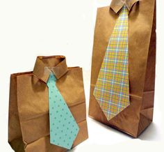 DIY Father's Day Gift Bags-awesome!
