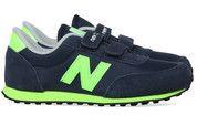 Blauwe New Balance kinderschoenen 410 sneakers