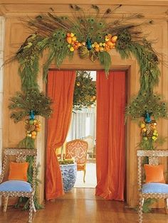 christmas decor via designer mary mcdonald